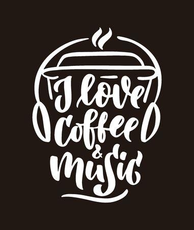 Coffee love Illustration