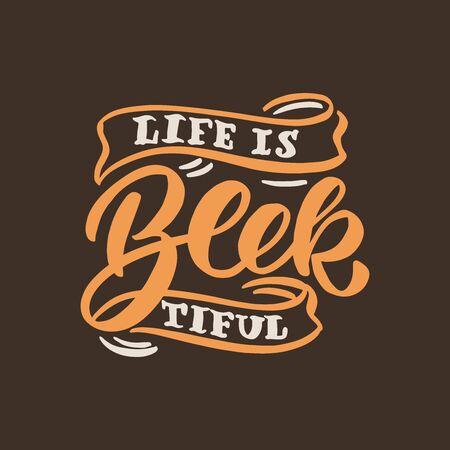 Beer phrase