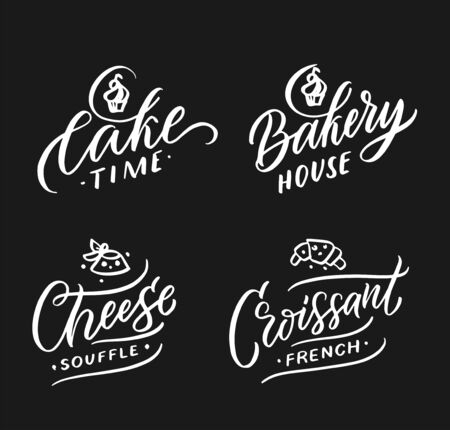 Food doodle design template.