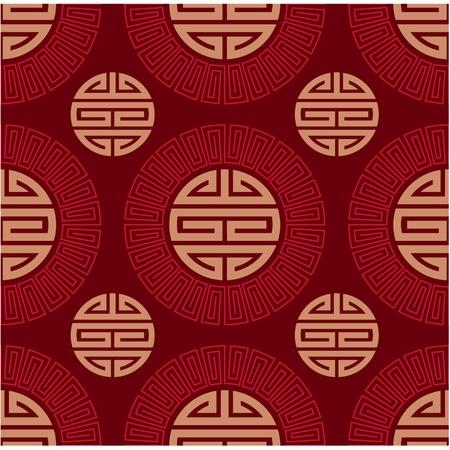 oriental vector: Vector Seamless Oriental Tile  Illustration