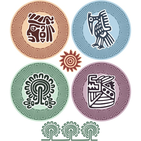 indigenous: Set of Mexican Design Elements