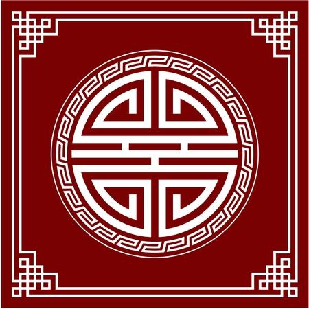 Oriental Design Element (Knot Composition)