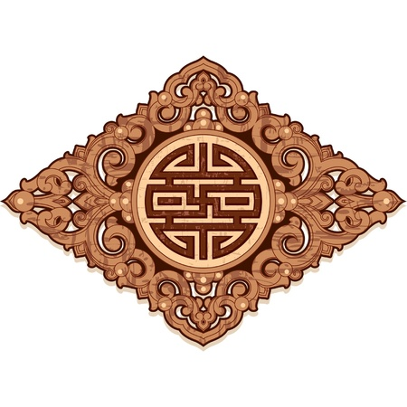 Oriental Design Element  Vector