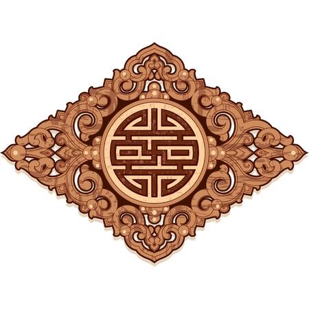 korean traditional: Oriental Design Element