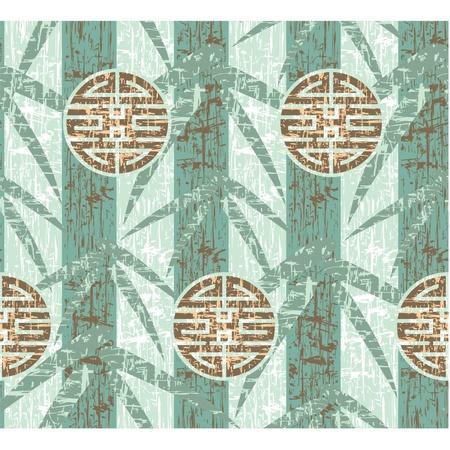 chinese border: Oriental Seamless Tile (Wallpaper)