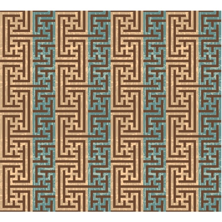 mongolian: Oriental Seamless Tile (Wallpaper)