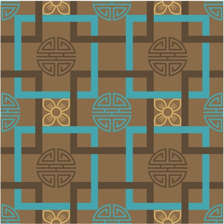 chinese knot: Oriental Seamless Tile (Wallpaper)