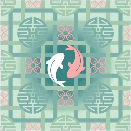 Oriental Seamless Tile (Wallpaper)