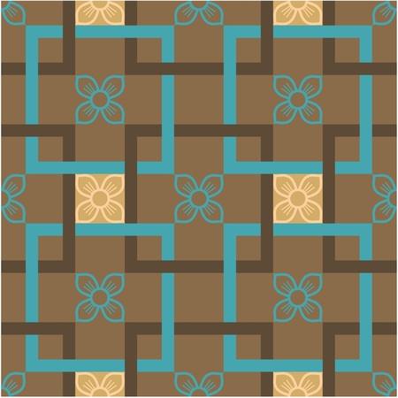 mongolian: Seamless Tile (Wallpaper)