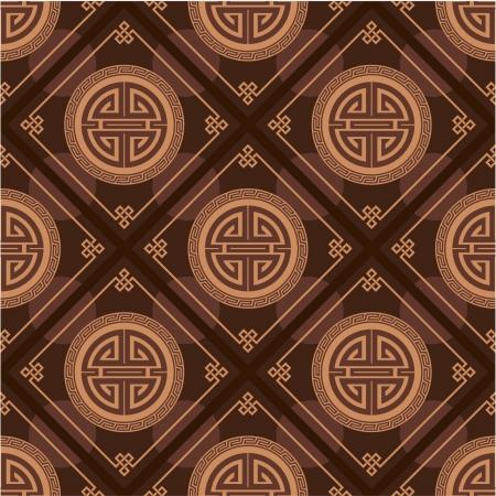 korean culture: Oriental Seamless Tile (Wallpaper)