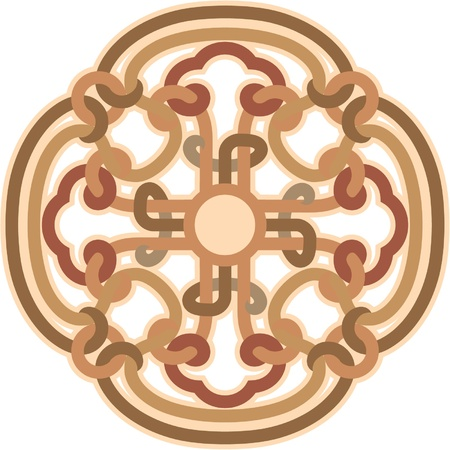 Ornament Rosette - Design Element  Vector