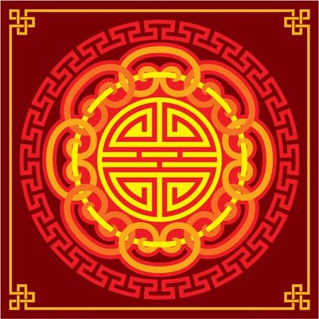chinese border: Oriental Ornament (Decoration Pattern)