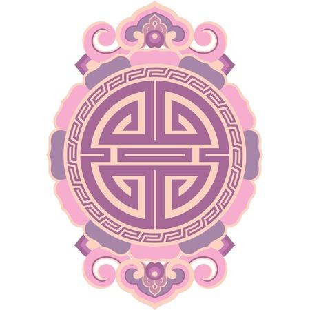 traditional oriental culture: Oriental Design Element