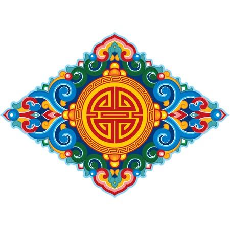buddhist: Oriental Ornament (Decoration Pattern)