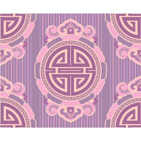 Oriental Seamless Tile (Wallpaper) Vector
