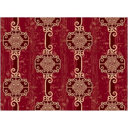 Oriental Seamless Tile (Wallpaper) Stock Vector - 11185433