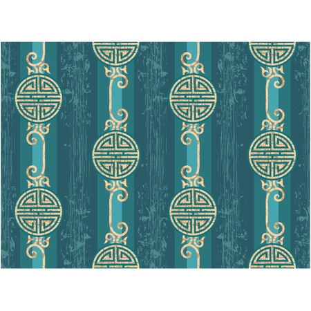 Oriental Seamless Tile (Wallpaper) Stock Vector - 11185431