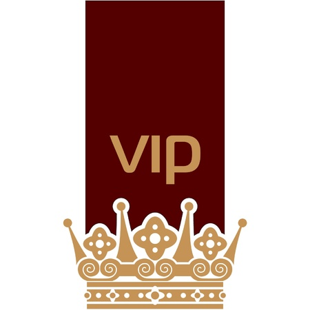 VIP Symbol Element Stock Vector - 11185374