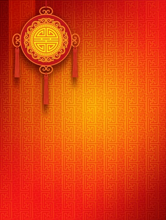 chinese new year card: Oriental Background Stock Photo