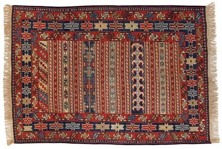 rug: Traditional Oriental Carpet in Nomad Style - Kilim (Kelim)