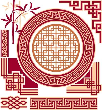Jeu de orientales - Design Elements - Chinois