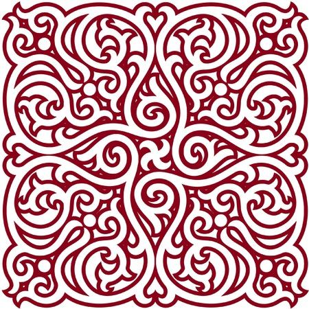 rosette: Elemento de dise�o oriental