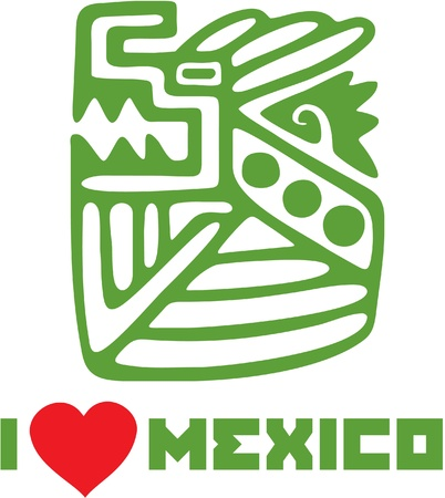 coyote: I Love Mexico Template Design