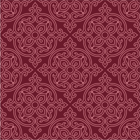 Oriental Seamless Pattern - Background, Wallpaper, Tile Vector