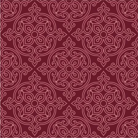 東洋のシームレスなパターン - 背景、壁紙、タイル