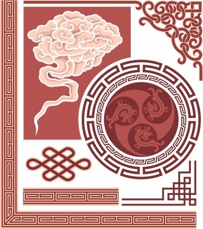traditional culture: Set of Oriental Design Elements