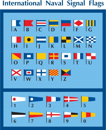 seafaring: International Naval Signal Flags