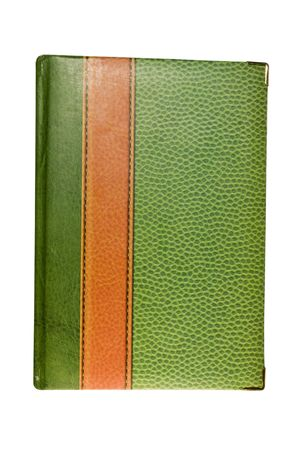 Green Book. It is isolated on a white background Stock Photo - 6606305