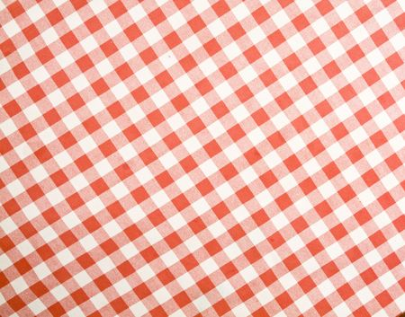 checkered fabric useful as textures and backgrounds Stock Photo
