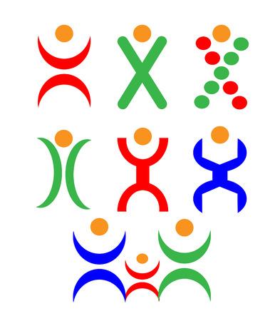 Résumé des logos humaines