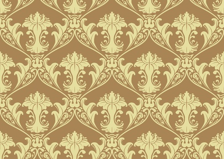 A vector illustrated tileable seamless pattern. Vector