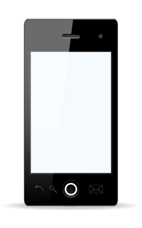 Vector stylish Smartphone with isolated background. Vector Illustration. Stock Illustration - 14825715