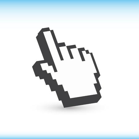 Computer hand cursor