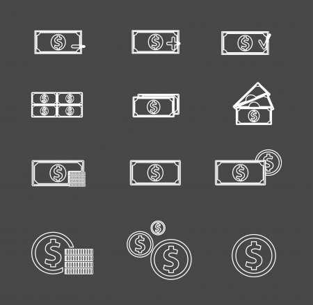 Money for use in your designs Stock Vector - 15498073