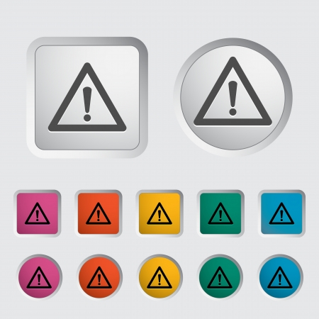 beginner: Problems with the car icon. Vector illustration.