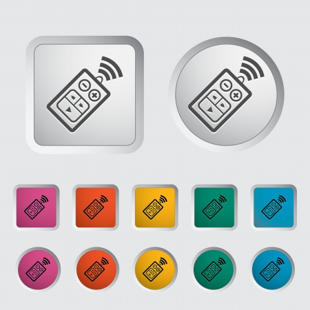 Car remote control icon. Vector illustration. Stock Vector - 16786146