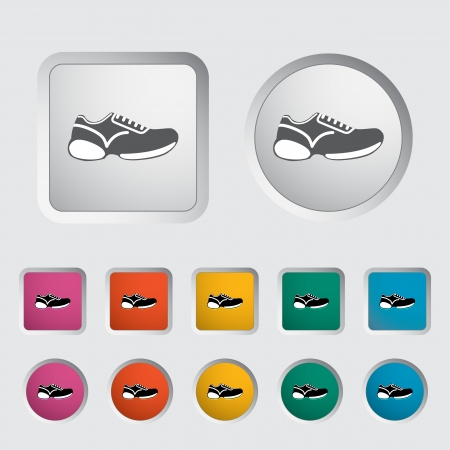 Shoes icon. Vector illustration  Vector