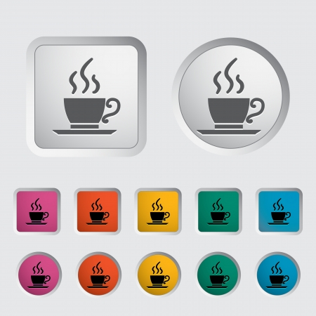 Cafe single icon  Vector illustration  Stock Vector - 17304297