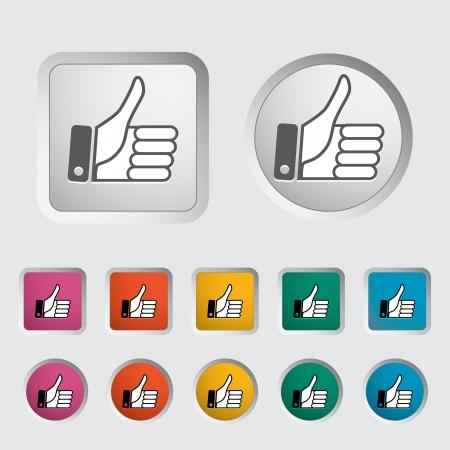Like icon. Vector illustration   Stock Vector - 17304376