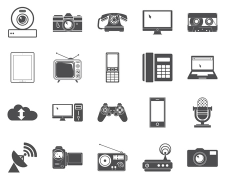 Devices icons  Vector illustration  Vector