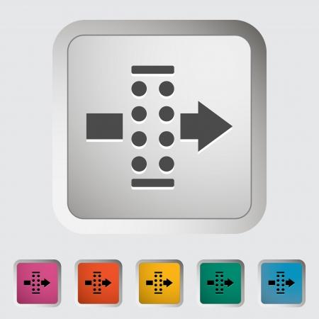 air filter: Air filter  Single icon