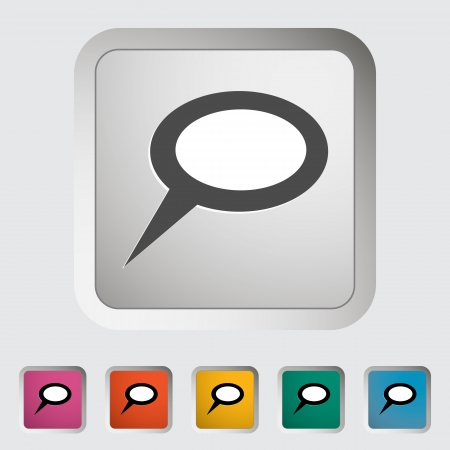 Chat icon Stock Vector - 18850123