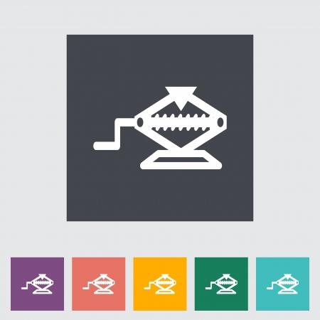 screw jack: Icon jack illustration.