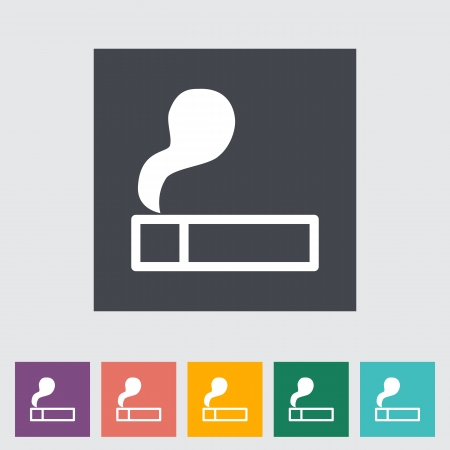 ljusare: Lighter. Single flat icon illustration.