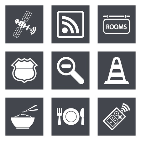 Icons for Web Design and Mobile Applications set 26.  Vector