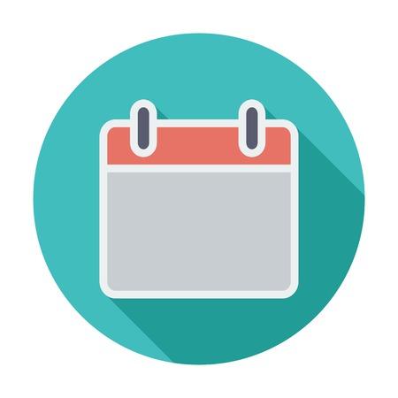 Calendar stroke icon Vector